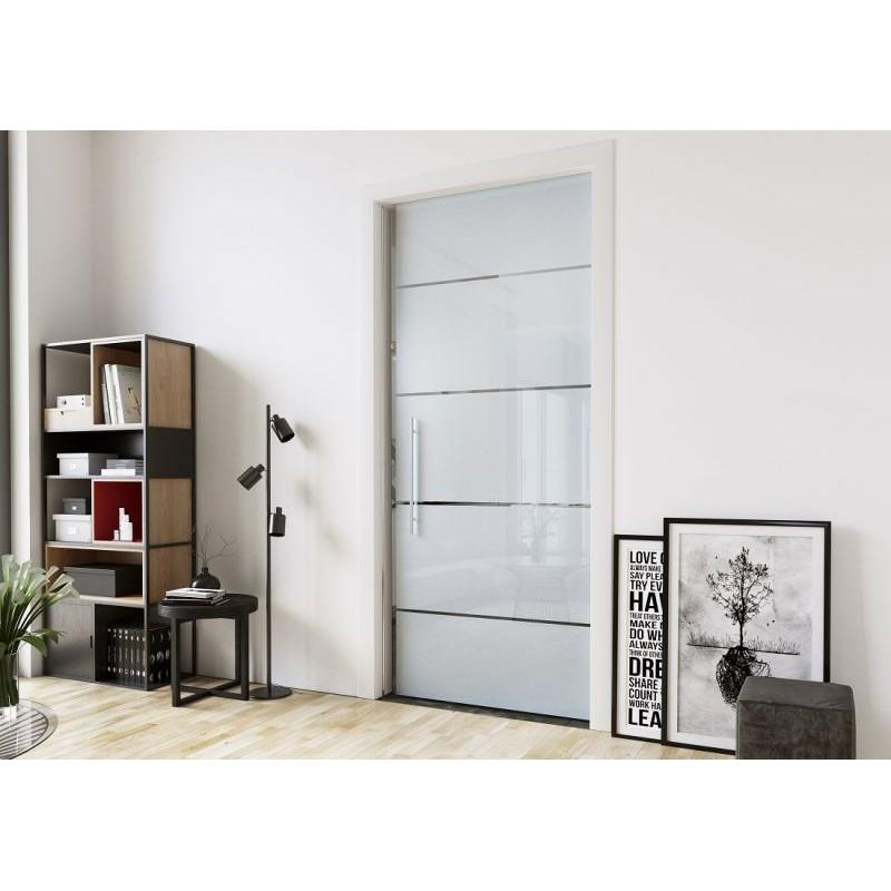 Groovy Drzwi przesuwne szklane chowane w ścianie DV28 100cm GQ69