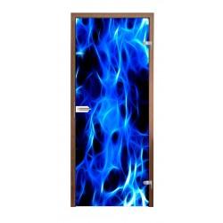 """Skrzydło szklane """" BLUE """"8..."""